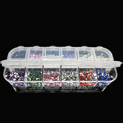 12 Colors Premium Rhinestones Nail Art DecorationsNail Art Accessories<br>12 Colors Premium Rhinestones Nail Art Decorations<br><br>Occasion: Causal<br>Package Contents: 1 x Nail Art Tools Set<br>Package size (L x W x H): 15.00 x 11.00 x 5.00 cm / 5.91 x 4.33 x 1.97 inches<br>Package weight: 0.0600 kg<br>Product weight: 0.0400 kg<br>Season: All seasons<br>Size: Free Size