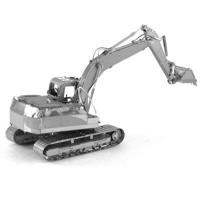 Apepal 3D Metal Puzzle Digging Car Excavator Model