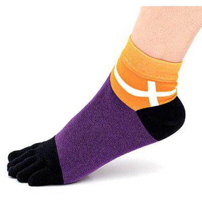 Breathable Sweat Absorption Joint Toe Socks for Men