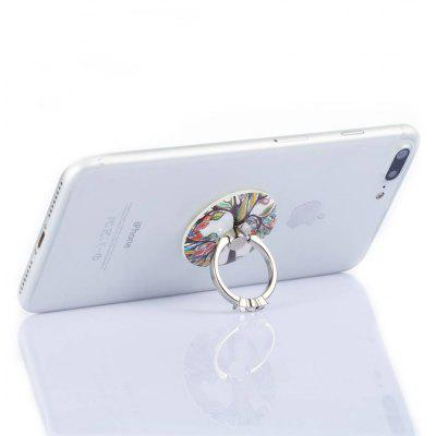 Modern Colorful Tree Pattern Phone Ring Stand Holder