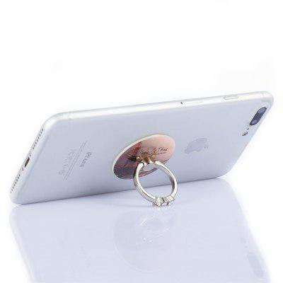 Practical Durable Pattern Phone Ring Stand Holder