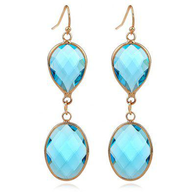 Women Crystal Colourful Pendant Earrings