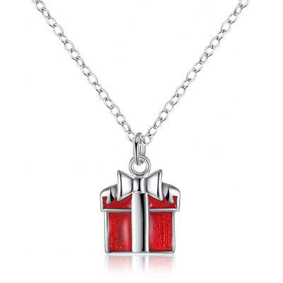 Silver Plated Unisex Pendant Necklace