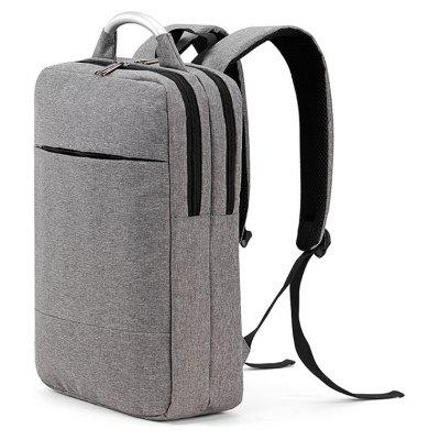 Men Stylish Business Water-resistant Canvas Laptop Backpack