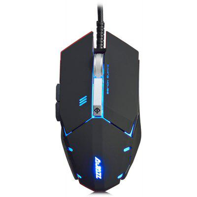 AJAZZ GTC Wired Gaming Mouse com LED Light 4000 DPI