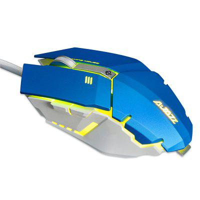 AJAZZ GTC Wired Gaming Mouse with LED Light 4000 DPIMouse<br>AJAZZ GTC Wired Gaming Mouse with LED Light 4000 DPI<br><br>Brand: Ajazz<br>Cable Length (m): 1.7m<br>Coding Supported: Yes, Yes<br>Connection: Wired, Wired<br>Connection Type: USB Wired, USB Wired<br>DPI Adjustment: Support, Support<br>Interface: USB 2.0, USB 2.0<br>Material: ABS<br>Model: GTC<br>Mouse Macro Express Supported: Yes, Yes<br>Package Contents: 1 x AJAZZ GTC Wired Gaming Mouse, 1 x AJAZZ GTC Wired Gaming Mouse<br>Package size (L x W x H): 14.20 x 10.10 x 5.00 cm / 5.59 x 3.98 x 1.97 inches, 14.20 x 10.10 x 5.00 cm / 5.59 x 3.98 x 1.97 inches<br>Package weight: 0.1900 kg, 0.1900 kg<br>Power Supply: USB Port, USB Port<br>Product size (L x W x H): 12.58 x 6.38 x 3.90 cm / 4.95 x 2.51 x 1.54 inches, 12.58 x 6.38 x 3.90 cm / 4.95 x 2.51 x 1.54 inches<br>Product weight: 0.1390 kg, 0.1390 kg<br>Resolution: 1000DPI,1500DPI,2000DPI,3000DPI,4000DPI,500DPI, 1000DPI,1500DPI,2000DPI,3000DPI,4000DPI,500DPI<br>Type: Mouse