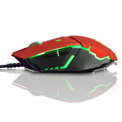 AJAZZ GTC Wired Gaming Mouse with LED Light 4000 DPIMouse<br>AJAZZ GTC Wired Gaming Mouse with LED Light 4000 DPI<br><br>Brand: Ajazz<br>Cable Length (m): 1.7m<br>Coding Supported: Yes<br>Connection: Wired<br>Connection Type: USB Wired<br>DPI Adjustment: Support<br>Interface: USB 2.0<br>Material: ABS<br>Model: GTC<br>Mouse Macro Express Supported: Yes<br>Package Contents: 1 x AJAZZ GTC Wired Gaming Mouse<br>Package size (L x W x H): 14.20 x 10.10 x 5.00 cm / 5.59 x 3.98 x 1.97 inches<br>Package weight: 0.1900 kg<br>Power Supply: USB Port<br>Product size (L x W x H): 12.58 x 6.38 x 3.90 cm / 4.95 x 2.51 x 1.54 inches<br>Product weight: 0.1390 kg<br>Resolution: 1000DPI,1500DPI,2000DPI,3000DPI,4000DPI,500DPI<br>Type: Mouse