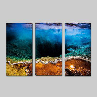Buy COLORMIX JOY ART Hanging Print Natural Scenery Framed Artwork 3PCS for $44.23 in GearBest store