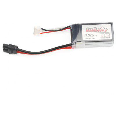 14.8V 550mAh 70C 4S Lipo Battery with SY60 Plug Connector