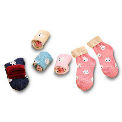 Fashion Little Rabit Keep Warm Socks for Women