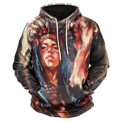 Indian Style Woman Printing Plus Size Sweatshirt -  25.62 Free ... 17157e2ed
