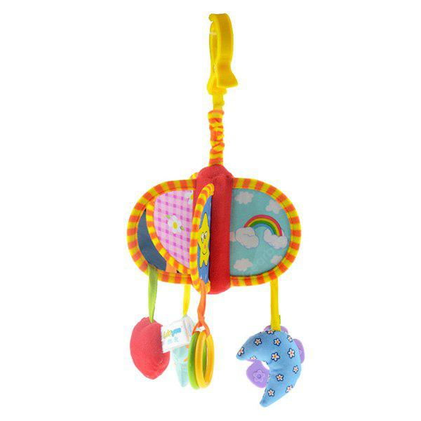 Buy Baby Rattle Toys Hanging Bell Wind Chime YELLOW