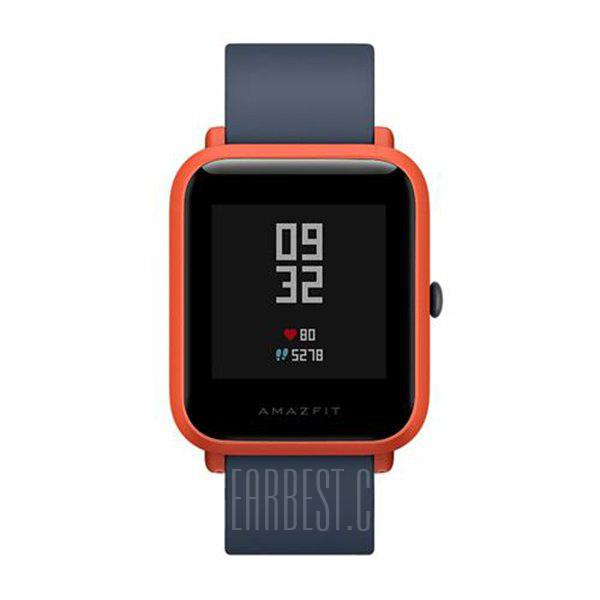 Original Xiaomi Huami AMAZFIT Bip Lite Version Smart Watch - ORANGE INTERNATIONAL VERSION