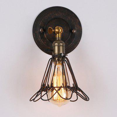 Brightness Retro Industrial Style Country Metal Wall Light