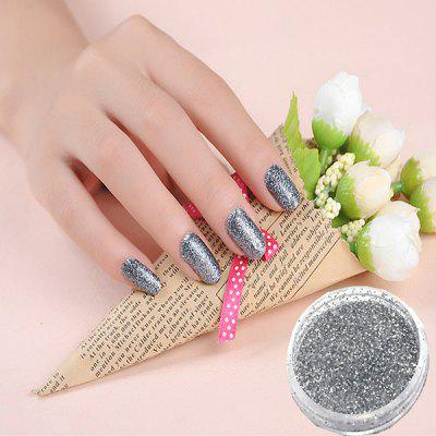 Popular Glitter Lacquer Polish Nail Chrome Pigment Powder