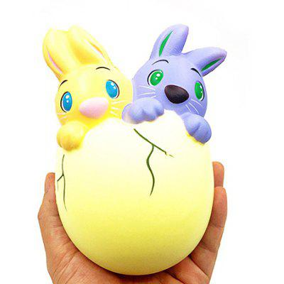 Squishy Slow Rising Easter Rabbit Babies Anti-stress Toy