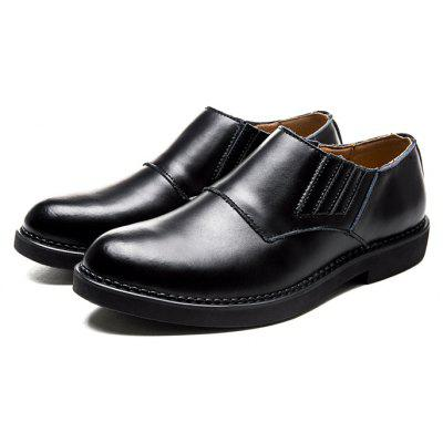Buy BLACK 38 Male Business Soft Lightweight Casual Dress Shoes for $41.36 in GearBest store