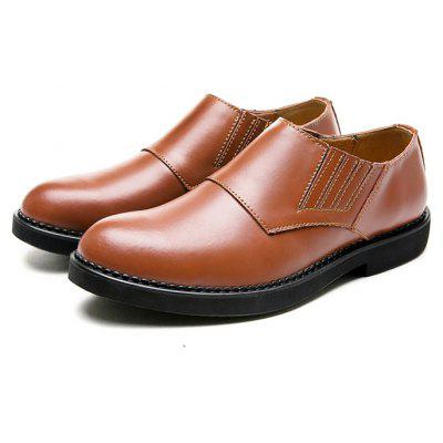 Buy BROWN 38 Male Business Soft Lightweight Casual Dress Shoes for $41.36 in GearBest store