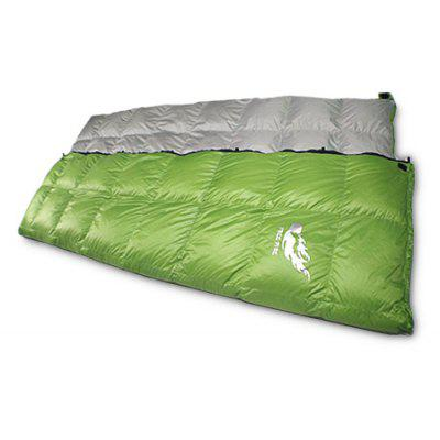 Outdoor Windproof Duck Down Envelope Sleeping Bag