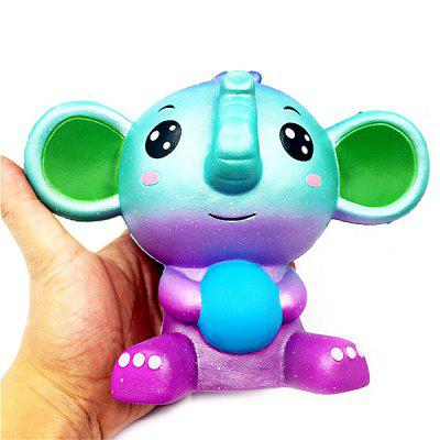 PU Squishy Toy with Cartoon Elephant StyleSquishy toys<br>PU Squishy Toy with Cartoon Elephant Style<br><br>Age Range: &gt; 5 years old<br>Materials: PU<br>Package Content: 1 x Squishy Toy<br>Package Dimension: 20.00 x 10.00 x 10.00 cm / 7.87 x 3.94 x 3.94 inches<br>Package Weights: 0.2300KG<br>Pattern Type: Animal<br>Product Dimension: 17.00 x 15.00 x 11.00 cm / 6.69 x 5.91 x 4.33 inches<br>Products Type: Squishy Toy<br>Use: Home Decoration, Early Education Props, Cabinet Decoration