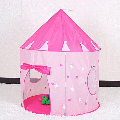 Night Light Pink Princess Castle Cute Baby TentTent<br>Night Light Pink Princess Castle Cute Baby Tent<br><br>Features: Breathable<br>Package Content: 1 x Baby Tent, 1 x Storage Bag, 1 x Pack of Stents<br>Package size: 42.00 x 42.00 x 5.00 cm / 16.54 x 16.54 x 1.97 inches<br>Package weight: 1.8000 kg<br>Product size: 105.00 x 105.00 x 135.00 cm / 41.34 x 41.34 x 53.15 inches<br>Product weight: 1.3000 kg<br>Type: Tent
