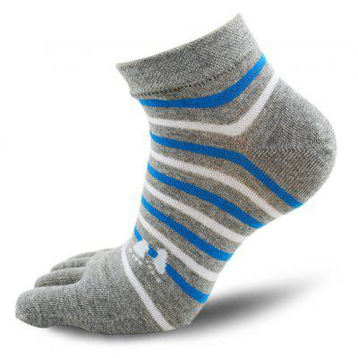 Female Colorful Soft Striped Deodorant Breathable Socks