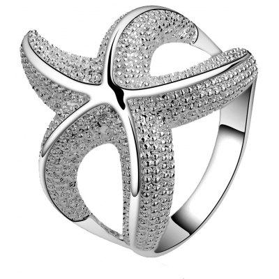 Luxury Starfish Shaped Ladies Party Ring
