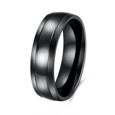 Fashionable Comfort Stainless Steel Ring for Men