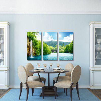 JOY ART 0120 Stretched Landscape Canvas Print 3PCSPrints<br>JOY ART 0120 Stretched Landscape Canvas Print 3PCS<br><br>Brand: JOY ART<br>Craft: Print<br>Form: Three Panels<br>Material: Canvas<br>Package Contents: 3 x Print<br>Package size (L x W x H): 62.00 x 7.00 x 32.00 cm / 24.41 x 2.76 x 12.6 inches<br>Package weight: 1.6000 kg<br>Painting: Include Inner Frame<br>Product weight: 1.3000 kg<br>Shape: Vertical<br>Style: Modern<br>Subjects: Landscape<br>Suitable Space: Bedroom,Living Room