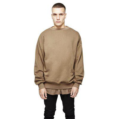 Buy CAMEL L HZIJUE Cotton Loose Sweatshirts for Men for $33.69 in GearBest store
