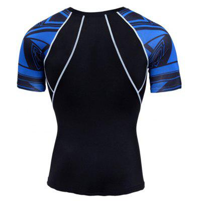Tight Breathable Basketball Men Short Sleeves Elastic T-shirtWeight Lifting Clothes<br>Tight Breathable Basketball Men Short Sleeves Elastic T-shirt<br><br>Features: Breathable, High elasticity, Quick Dry<br>Gender: Men<br>Material: Polyester, Spandex<br>Package Content: 1 x T-shirt<br>Package size: 35.00 x 30.00 x 2.00 cm / 13.78 x 11.81 x 0.79 inches<br>Package weight: 0.1800 kg<br>Product weight: 0.1600 kg<br>Types: Short Sleeves