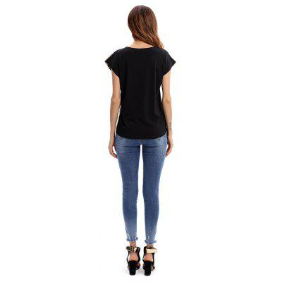 Women Cap Sleeves Tiger Print Fitted T-ShirtTees<br>Women Cap Sleeves Tiger Print Fitted T-Shirt<br><br>Collar: Round Neck<br>Material: Polyester, Spandex<br>Package Contents: 1 x T-Shirt<br>Package size: 35.00 x 30.00 x 2.00 cm / 13.78 x 11.81 x 0.79 inches<br>Package weight: 0.4200 kg<br>Pattern Type: Animal<br>Product weight: 0.4000 kg<br>Season: Spring, Fall, Summer<br>Sleeve Length: Short Sleeves<br>Sleeve Type: Cap Sleeve<br>Style: Casual, Fashion