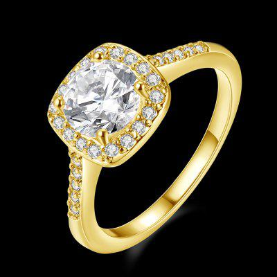 Fashionable Zircon RingRings<br>Fashionable Zircon Ring<br><br>Package Contents: 1 x Ring<br>Package size (L x W x H): 6.00 x 6.00 x 4.00 cm / 2.36 x 2.36 x 1.57 inches<br>Package weight: 0.0229 kg<br>Product weight: 0.0029 kg<br>Style: Fashion<br>Type: Rings