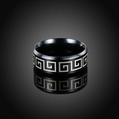 Classical Stainless Steel Abstract Pattern Ring for MenRings<br>Classical Stainless Steel Abstract Pattern Ring for Men<br><br>Occasions: Casual, Party<br>Package Contents: 1 x Ring<br>Package size (L x W x H): 6.00 x 6.00 x 4.00 cm / 2.36 x 2.36 x 1.57 inches<br>Package weight: 0.0055 kg<br>Product weight: 0.0051 kg<br>Style: Casual, Fashion<br>Type: Rings