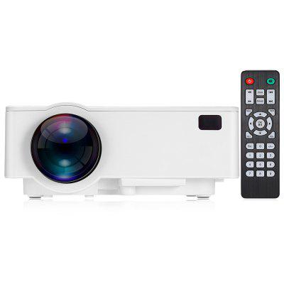 Buy WHITE Alfawise A8 Smart Projector for $99.99 in GearBest store