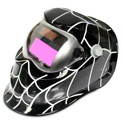 Cobweb Design Auto Darkening Electrical Welding Helmet