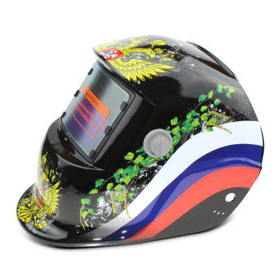 Eagle Pattern Automatic Darkening Electrical Welding Helmet