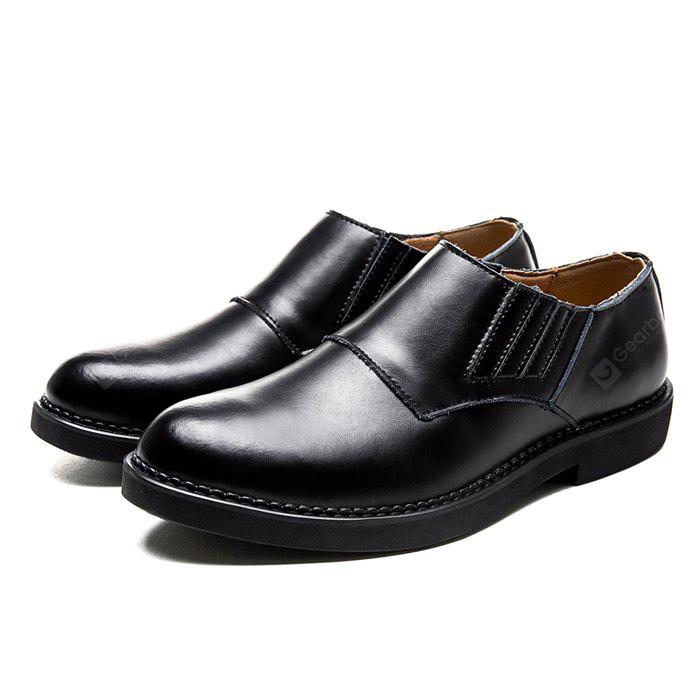 BLACK 42 Male Business Soft Lightweight Casual Dress Shoes