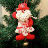 Adorable Christmas Happy Home Decorative Hanging Doll - RED AND WHITE