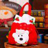 Christmas Adorable Kids Gifts Handbag for Christmas - RED WITH WHITE