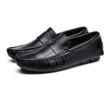Male British Block Soft Light Casual Loafer Leather Shoes nicekicks online cheap pictures cheap genuine with mastercard EftWD
