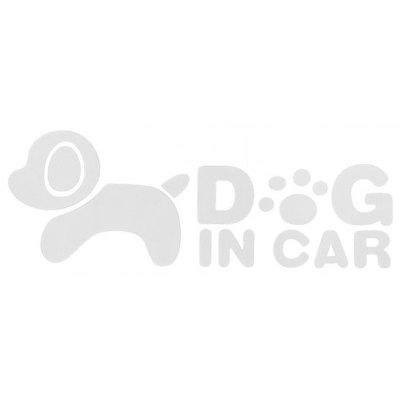 Environmental Dog Pattern Car Sticker without Trace Leaving