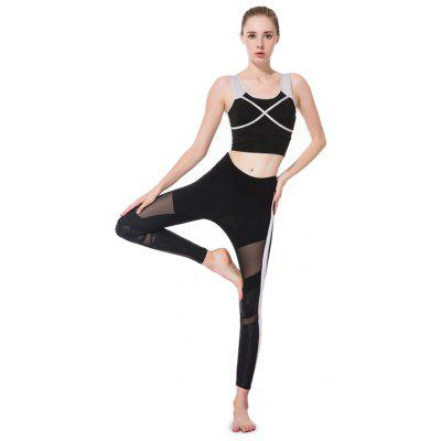 Breathable Sports Running Yoga Set for Women
