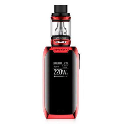 Vaporesso Revenger X 220W TC Kit with NRG Tank Review 2018 And Coupon Code