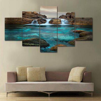 Jing Sheng Unframed High Definition Prints Wall Art 5PCSPrints<br>Jing Sheng Unframed High Definition Prints Wall Art 5PCS<br><br>Brand: Jingsheng<br>Craft: Print<br>Form: Five Panels<br>Material: Canvas<br>Package Contents: 5 x Print<br>Package size (L x W x H): 36.00 x 6.00 x 6.00 cm / 14.17 x 2.36 x 2.36 inches<br>Package weight: 0.2100 kg<br>Painting: Without Inner Frame<br>Product weight: 0.1800 kg<br>Shape: Vertical<br>Style: Unique, Popular, Modern, Beautiful, Artistic Style, Fashion<br>Subjects: Landscape<br>Suitable Space: Bedroom,Cafes,Dining Room,Living Room,Office,Study Room / Office