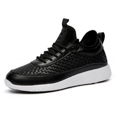 Male Nostalgic Knitted Breathable Soft Casual SneakersMen's Sneakers<br>Male Nostalgic Knitted Breathable Soft Casual Sneakers<br><br>Closure Type: Lace-Up<br>Contents: 1 x Pair of Shoes, 1 x Box<br>Decoration: Weave<br>Function: Slip Resistant<br>Materials: Woven Fabric, Rubber<br>Occasion: Sports, Shopping, Running, Outdoor Clothing, Holiday, Daily, Casual, Basketball, Riding<br>Outsole Material: Rubber<br>Package Size ( L x W x H ): 31.00 x 20.00 x 13.00 cm / 12.2 x 7.87 x 5.12 inches<br>Pattern Type: Solid<br>Seasons: Autumn,Spring<br>Style: Modern, Leisure, Fashion, Comfortable, Casual<br>Toe Shape: Round Toe<br>Type: Sports Shoes<br>Upper Material: Woven Fabric