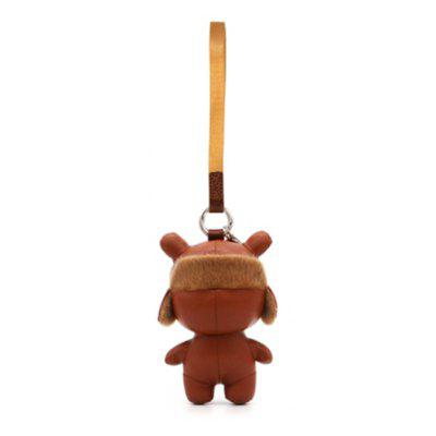 Xiaomi PU Leather 13cm Rabbit Keychain Bag Decoration