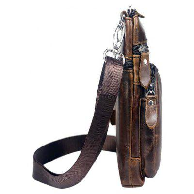 BULLCAPTAIN Genuine Leather Shoulder Bag BULLCAPTAIN Genuine Leather  Shoulder Bag ... b2e4d4c9f479e