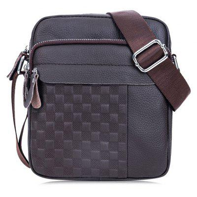 BULLCAPTAIN Men Trendy Genuine Leather Shoulder Bag