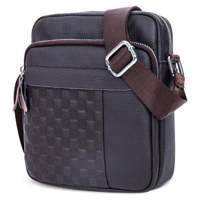 BULLCAPTAIN Men Trendy Genuine Leather Shoulder BagCrossbody Bags<br>BULLCAPTAIN Men Trendy Genuine Leather Shoulder Bag<br><br>Brand: BULLCAPTAIN<br>Features: Wearable<br>Gender: Men<br>Material: Leather<br>Package Size(L x W x H): 24.00 x 4.00 x 22.00 cm / 9.45 x 1.57 x 8.66 inches<br>Package weight: 0.3500 kg<br>Packing List: 1 x Shoulder Bag<br>Product weight: 0.3400 kg<br>Style: Casual, Fashion<br>Type: Shoulder bag